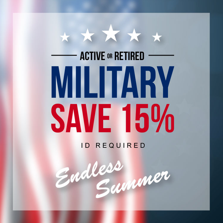 Endless Summer Military Discount